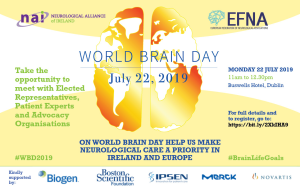 '5.7.2019 Join us for World Brain Day July 22nd' image