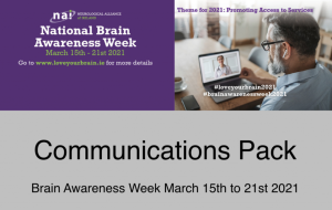 '13.1.2021 Communications Pack for Brain Awareness Week is Now Available to Download' image