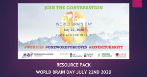 'World Brain Day RESOURCE PACK Now Available to Download' image